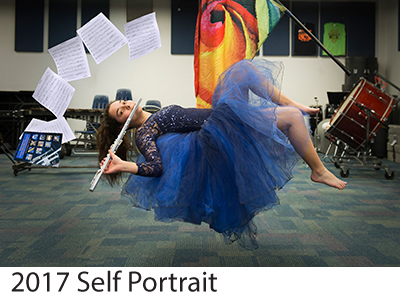 2017 Self Portrait Winners