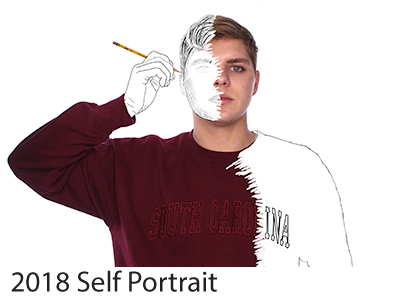 2018 Self Portrait Winners