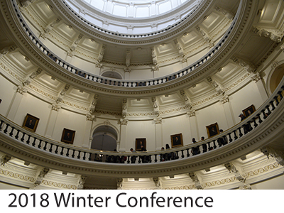 2018 Winter Conference Winners